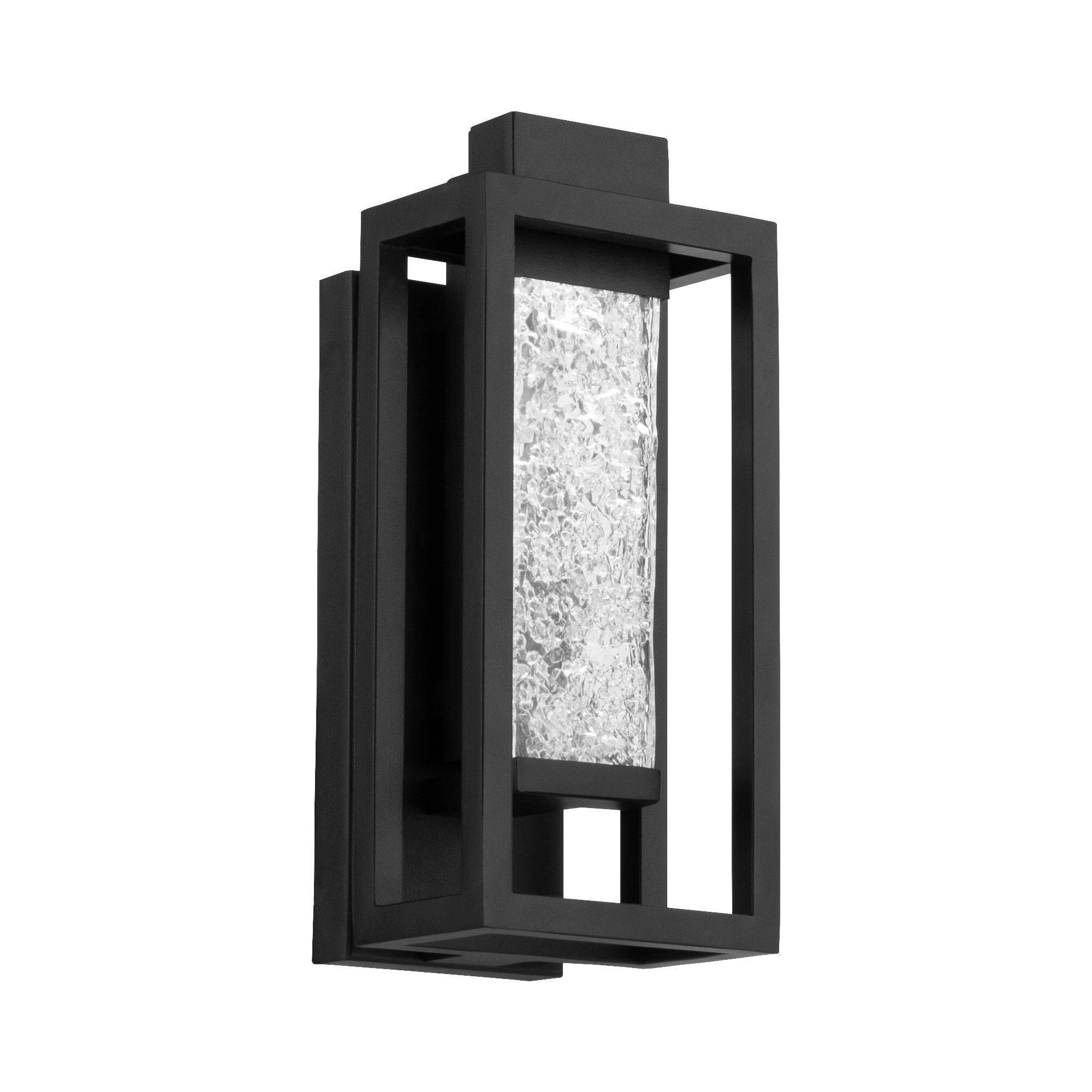 lanterna outdoor wall sconce by modern forms ws w56014 bk