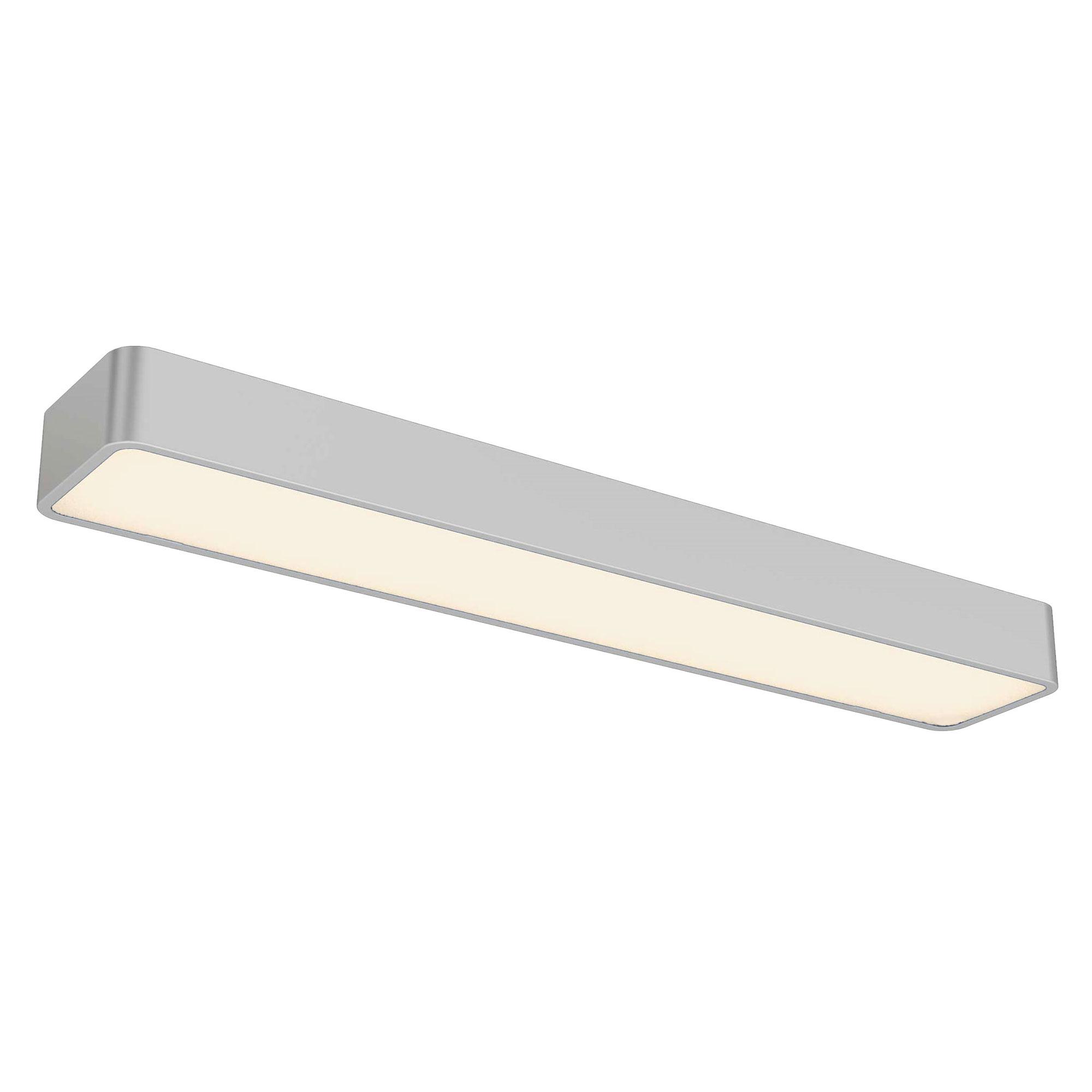mont blanc flush mount ceiling wall light open box by dvi lighting ob dvp16802sn op