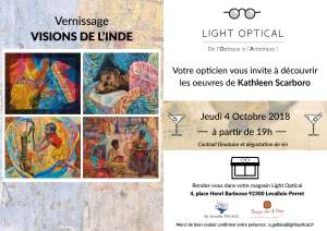 Vernissage Vision de l'Inde