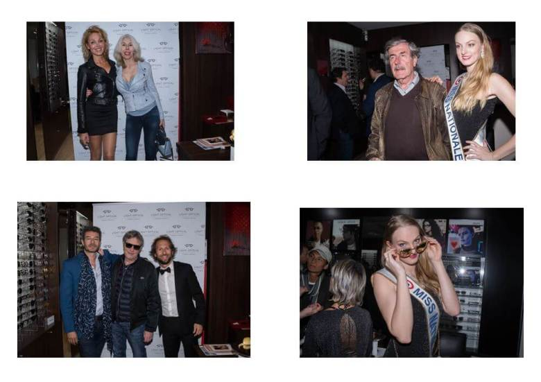 photos de la soirée Tapis Rouge by Light Optical