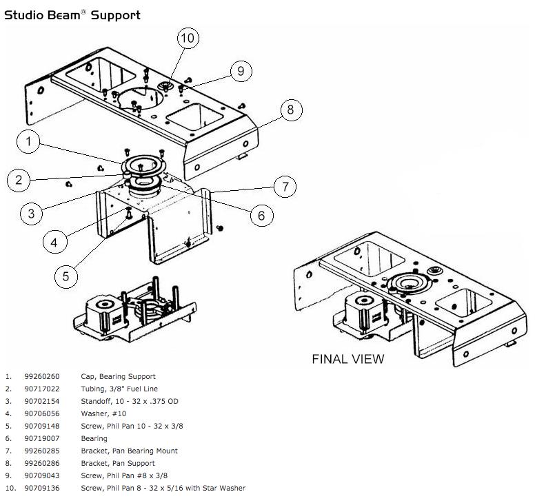 Studio Beam: LightParts