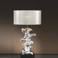 Elstead Lighting Libero Silver Table Lamp - Elstead ...