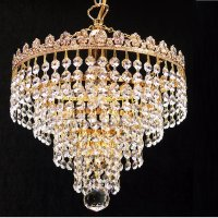 Fantastic Lighting 4 Tier Chandelier 166/10/1 With Crystal