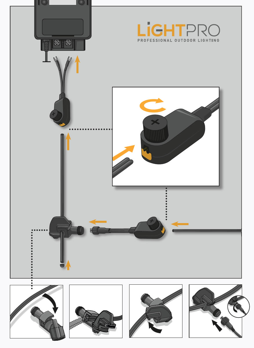professional outdoor lighting system