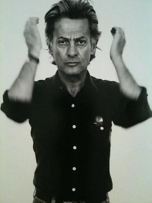 Self portrait of all time great photographer Richard Avedon.