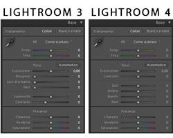 Lightroom 4: Versione di elaborazione 2012 e nuovi strumenti del pannello Base del modulo Sviluppo