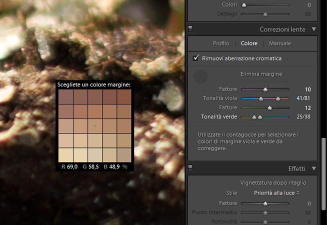 06 lightroom aberrazione aberrazioni cromatica cromatiche correggere correzione guida tutorial
