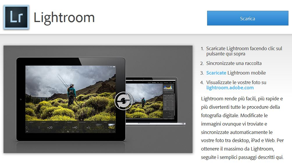 Assieme a Lightroom per iPad arriva anche la versione 5.4 di Lightroom per Windows e Mac [Aggiornato]