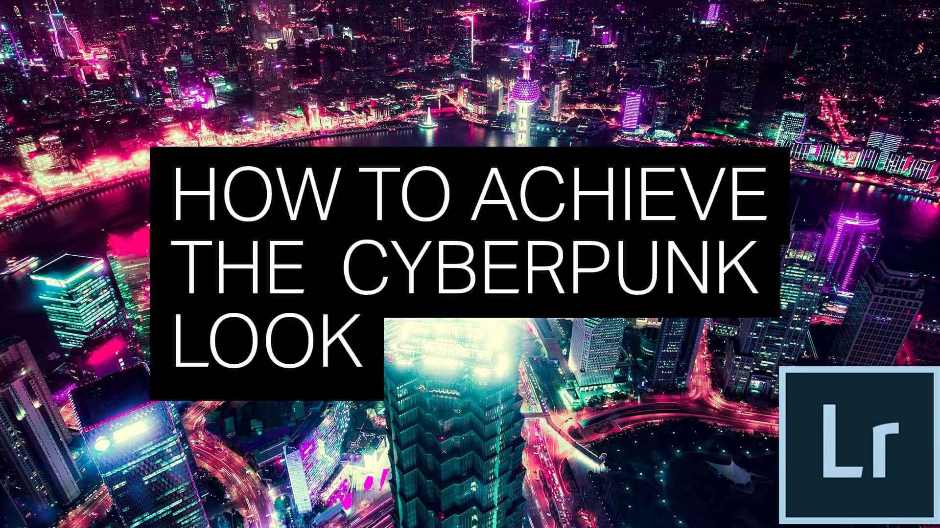 How to Achieve the Cyberpunk Pink/Cyan/Purple Effect in