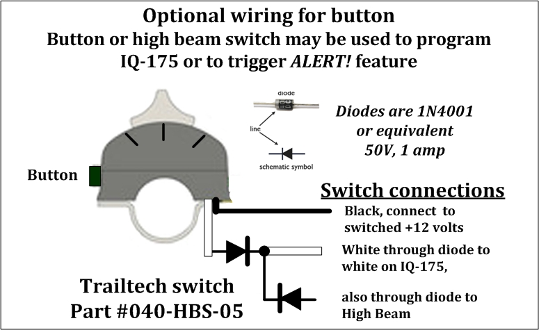trail tech light switch wiring diagram 2003 dodge ram ignition iq 175 175a trailtech