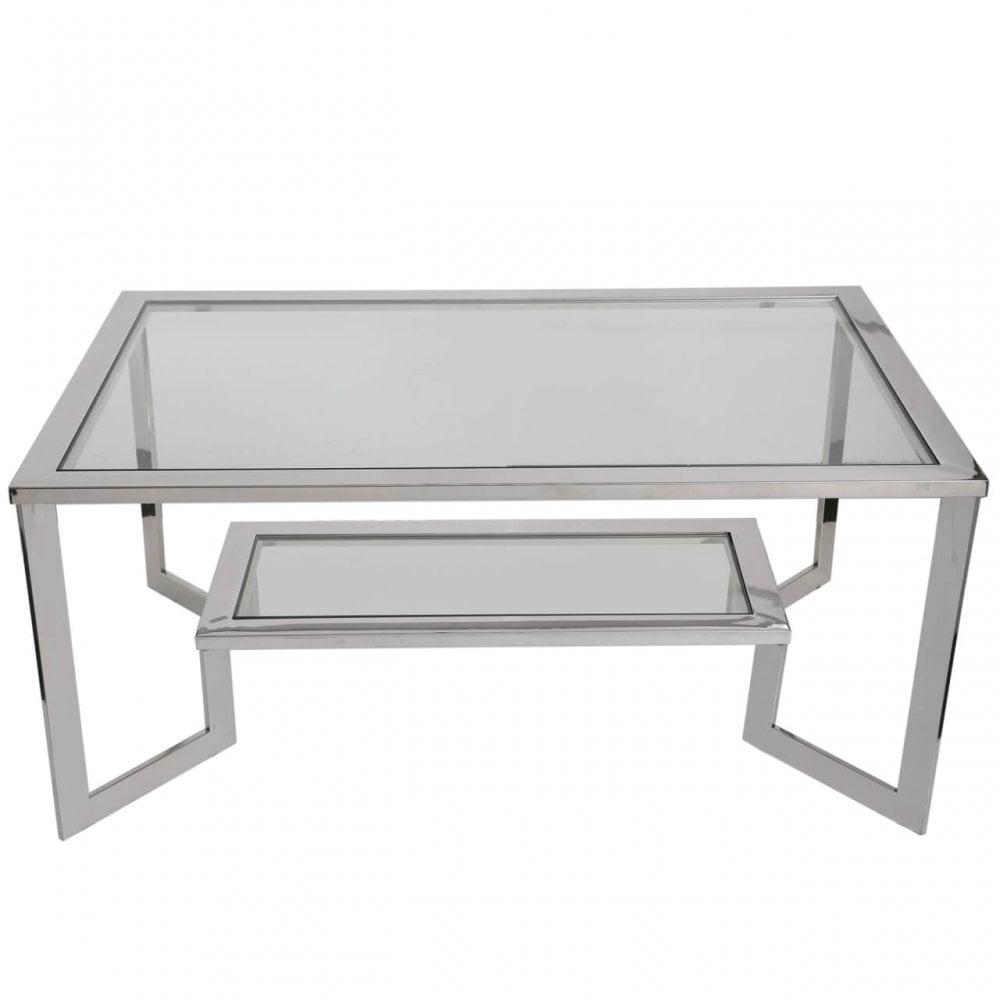 lights2go wig002 wigheard chrome coffee table