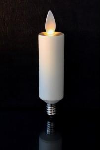 Avalon Moving Flame Flameless Led Candle Chandelier Bulb E12 Base Ivory 1 0 X 4