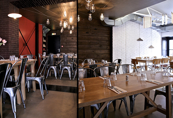 Interior Design Showcase A French Caf 233 And Restaurant