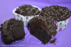 Chocolate Frosted Chocolate Cupcakes. Lusciously soft, melt in the mouth dessert. #cupcakes #chocolate. Click the photo for the #recipe