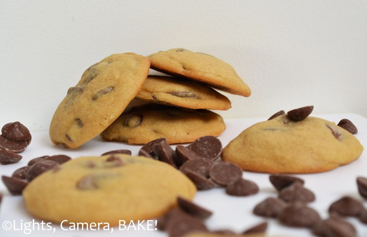 The BEST Chocolate Chip Cookie #recipe. These #chocolatechipcookies are soft, chewy, sweet and everything you want from a cookie! Click the photo for the recipe.