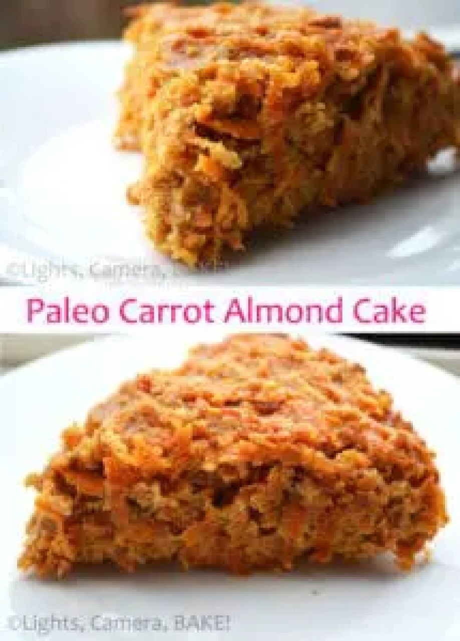 Paleo Carrot Almond Cake. Grain free, dairy free, gluten free, refined sugar free and most importantly, it taste incredible! Click the photo for the #recipe . #paleobaking #carrotcake