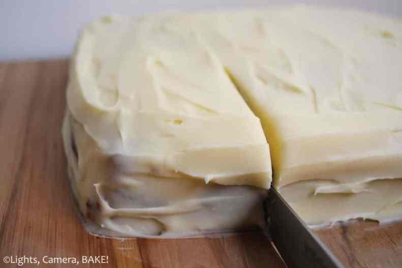 Banana Cake with Cream Cheese Icing. Moist, fluffy banana cake with a classic cream cheese icing. #bananacakerecipe #thebestbananacakerecipe #creamcheeseicingrecipe