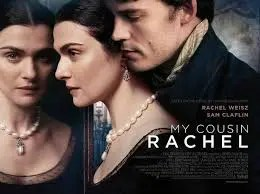 My Cousin Rachel Movie Poster. Film talk and movie review can be found on lightscamera-bake.com #moviereview #mycousinrachel