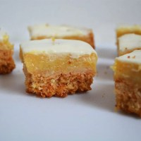 No Bake White Chocolate Caramel Slice