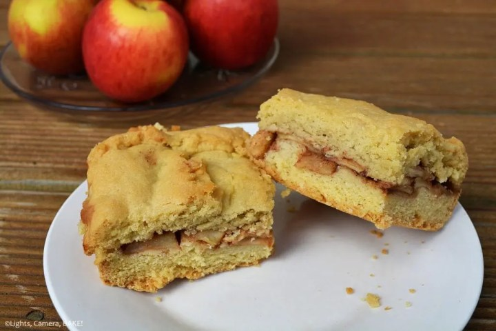 Apple Shortcake is a soft and buttery, flaky shortcake base and topping with a cinnamon apple filling that is perfect for breakfast, brunch or dessert!