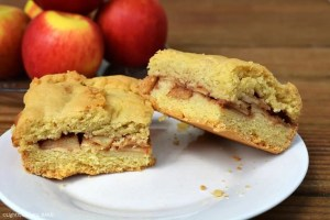 Apple Shortcake is a soft and buttery, flaky shortcake base and topping with a cinnamon apple filling that is perfect for breakfast, brunch or dessert! Apple shortcake is an old fashioned classic recipe that should definitely have a place in your baking repertoire.