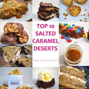 Salted Caramel is one of my favourite things to use in baking. Perfect balance between the salty and sweet that is perfectly paired with cakes, slices, cheesecakes... The list is endless! I'm so excited to share with you my 10 Salted Caramel Desserts recipes so we can share in all the salty goodness together.