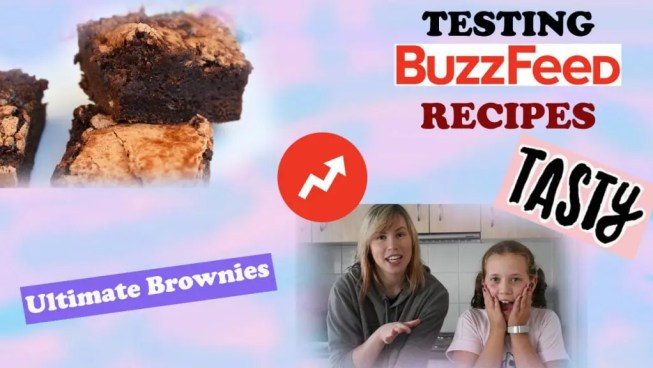 BuzzFeed's Tasty Ultimate Brownies Recipe Taste Test! The ultimate brownies recipe is fudgy and gooey with a super crackly top! #ultimatebrownies #ultimatebrowniesrecipe #buzzfeedtasty #tastyrecipe #buzzfeedrecipe