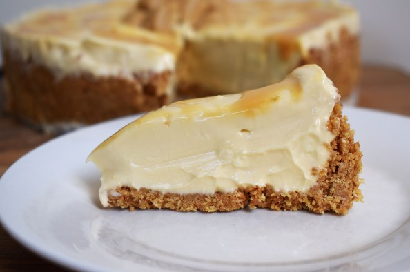 Caramilk Cheesecake is a no bake, creamy cheesecake made with Cadbury Caramilk chocolate for all those Caramilk or caramelised white chocolate lovers out there! #cheesecake #caramilk #caramilkcheesecake