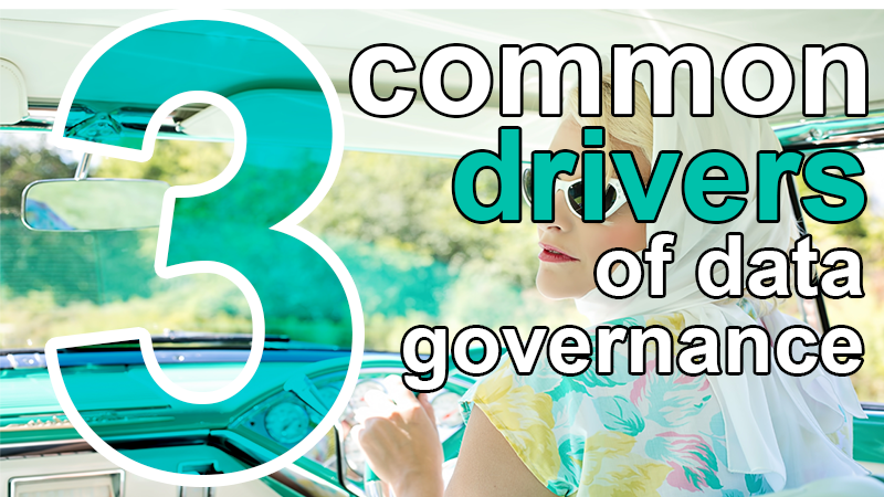drivers for data governance
