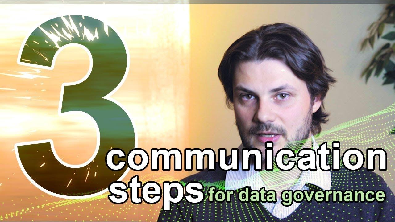3 communication steps