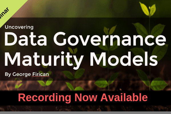 uncovering data governance maturity models webinar recording