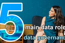 5 main data roles in data governance