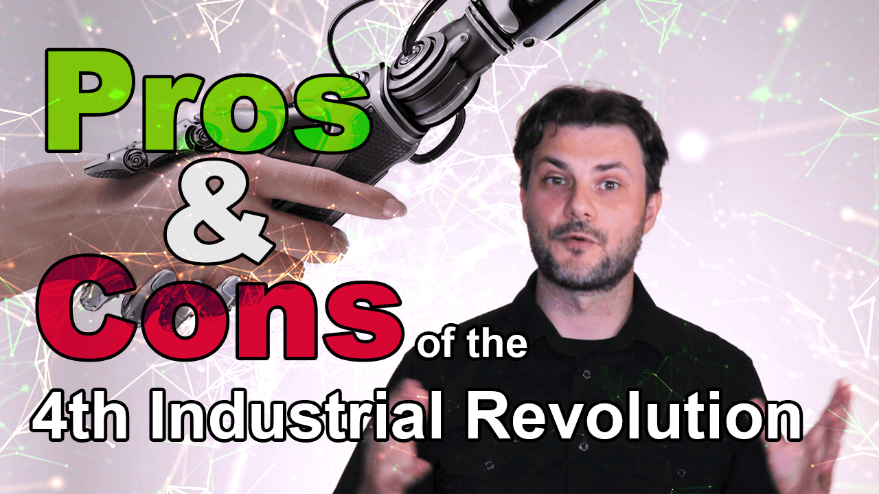pros and cons of the 4th industrial revolution