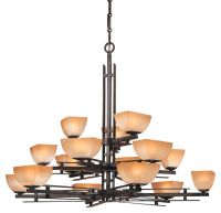 Minka Lavery Lineage 15-Light Chandelier in Iron - Multi ...