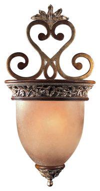 Minka Lavery Salon Grand 1-Light Wall Sconce in Bronze ...