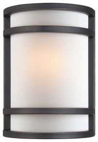 Minka Lavery 1-Light Wall Sconce in Bronze - Wall Sconces ...