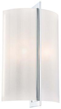 Minka Lavery Clarte 2-Light Wall Sconce in Chrome - Wall ...