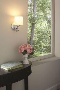 Quoizel Downtown 1-Light Wall Sconce in Chrome - Wall ...