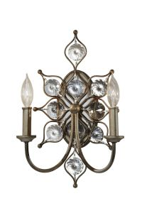 Feiss Leila 2-Light Wall Sconce - Wall Sconces - Wall Lights