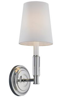 Feiss Lismore Polished Nickel Wall Sconce - Wall Sconces ...