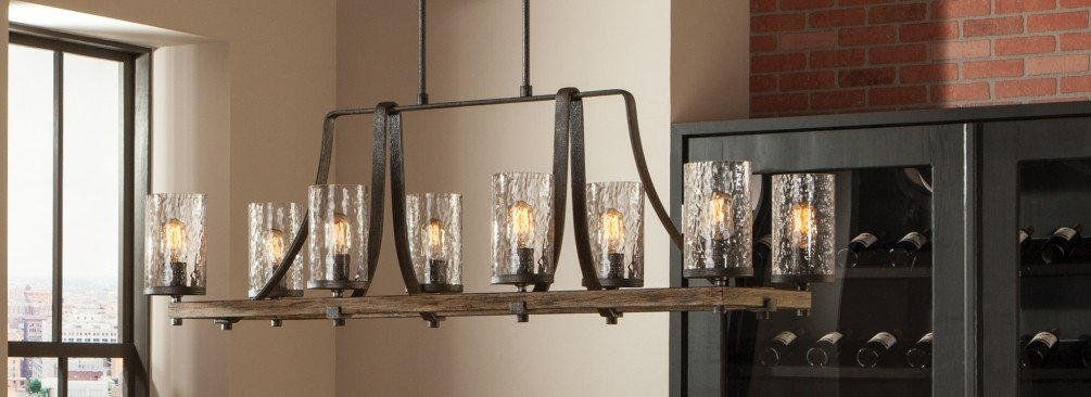 Rustic Kitchen Lighting  LightsOnlinecom