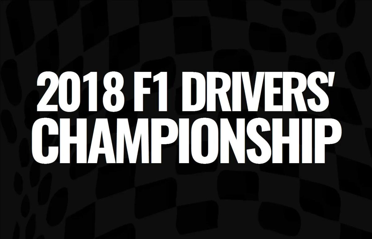 2018 F1 Drivers' Championship