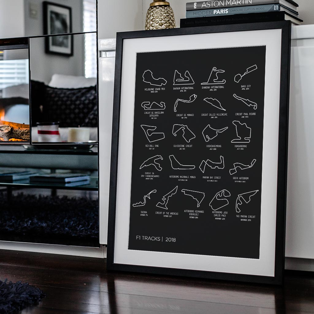 Awesome F1 art from Rear View Prints!