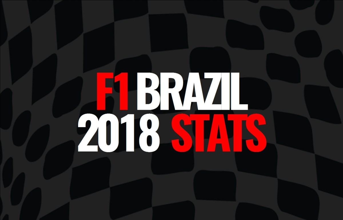 2018 Brazilian Grand Prix: Post Race Statistics