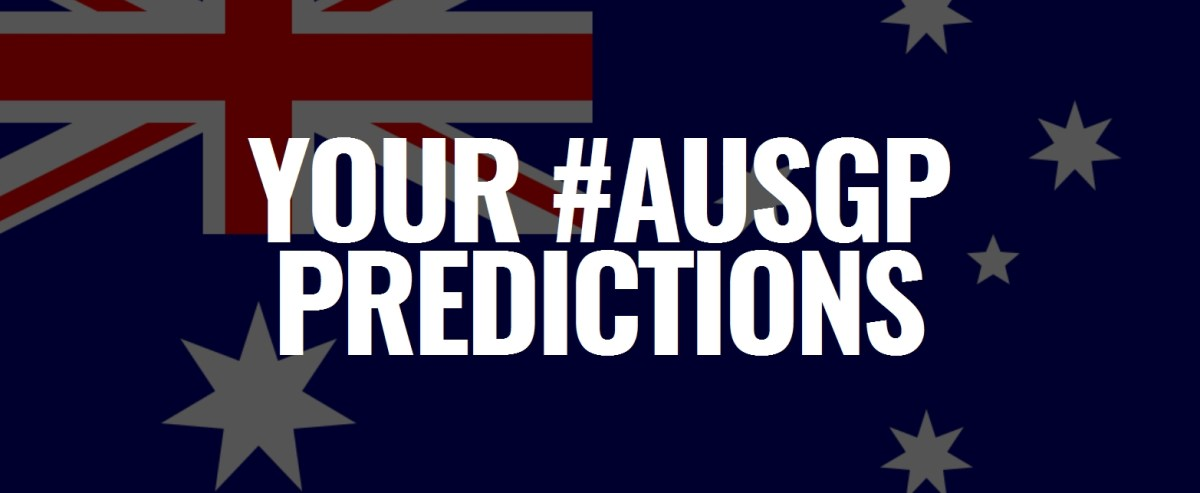 Your 2019 #AusGP Predictions: The Results