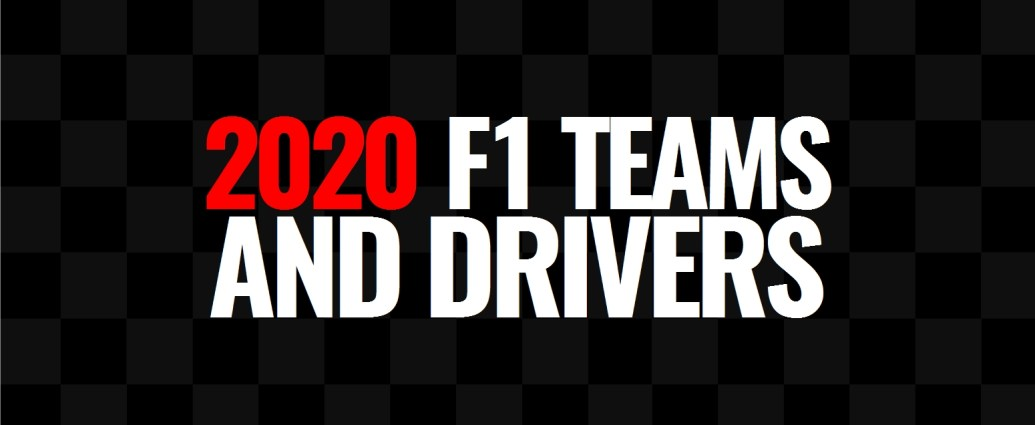 2020 F1 Teams And Drivers Lights Out