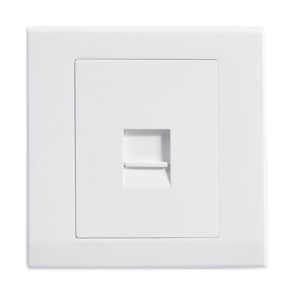 medium resolution of simplicity white screwless single bt master telephone socket 07740