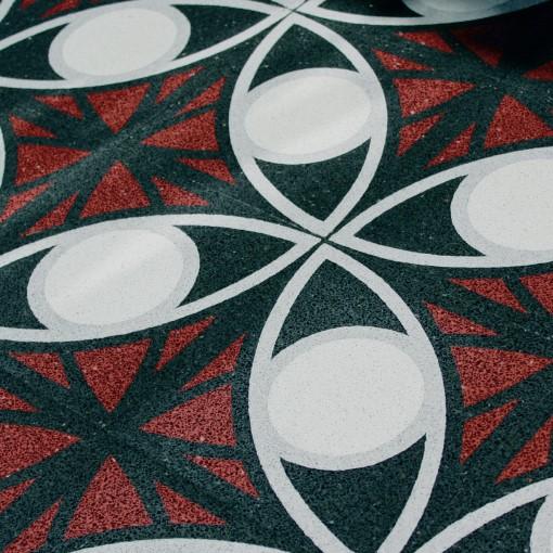 terrazzo cement floor tiles von