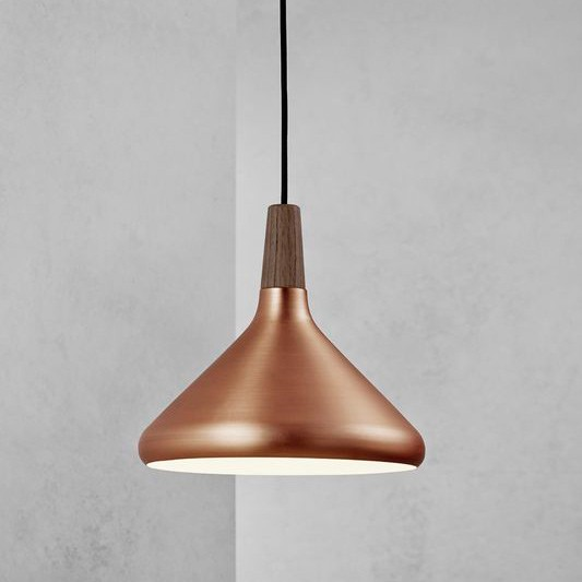 Nordlux Float 27 Ceiling Pendant Light Brushed Copper