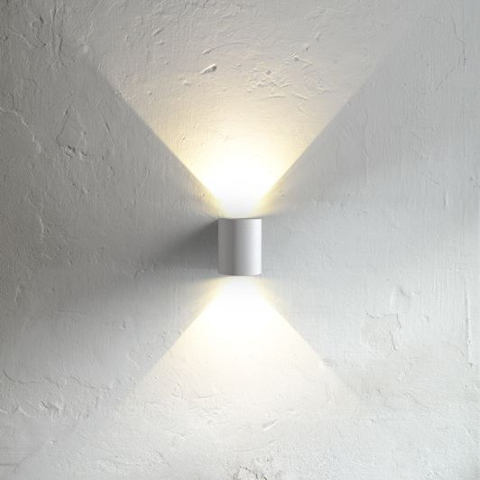 Nordlux Canto Outdoor Led Wall Light White